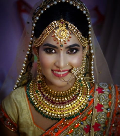 Indian Bridal Eye Makeup: Traditional Indian Bridal Makeup Looks Across India